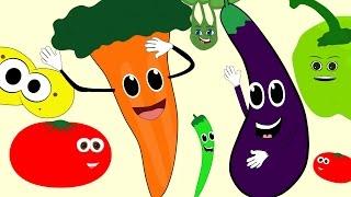 ÇOCUK ŞARKILARI - Sebzeler - Renkler - Çizge TV - Çizgi Film İzle
