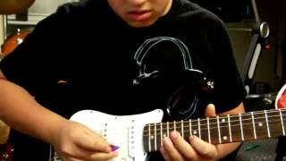 Avenged Sevenfold- Danger Line (solo cover)