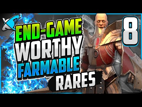 """8 """"End-Game"""" Worthy & FARMABLE RARES !! 