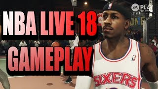 NBA Live 18 The One Gameplay!!! New My Career Mode For NBA Live 18