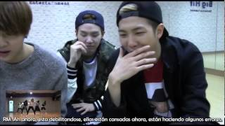 [SUB ESP] 디아크(THE ARK) 'Boy in luv' cover + BTS reaction