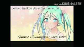 Hatsune miku Gimmie gimmie subtitle indonesia