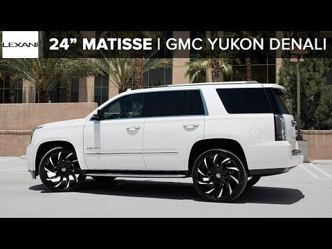 "GMC Yukon Denali on 26"" Matisse MBT Finish Lexani Wheels"