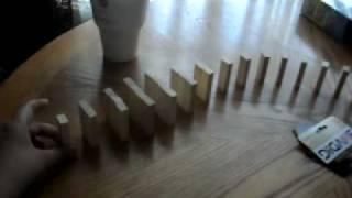 blocks falling down