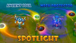 Mobile legends Uranus Ancient Soul/Mech Protector Skin Spotlight