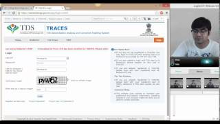 How to view form 26AS from TRACES