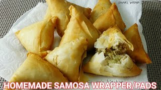 Manda/kaki za sambusa - Samosa wrapper/sheets -easy way