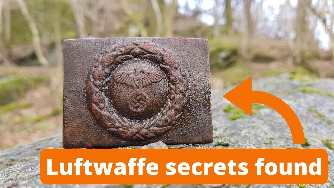 Luftwaffe Secrets Found - Find of a Lifetime !