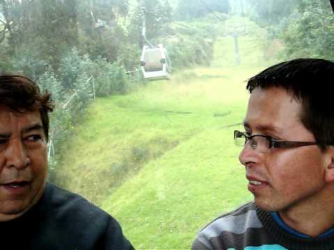 ASCENSO EN TELEFERICO DE QUITO ECUADOR…