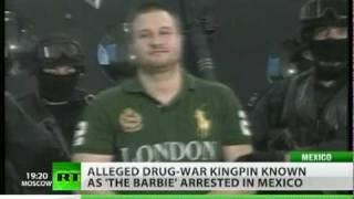 Drug lord Edgar 'La Barbie' Valdez arrested in Mexico