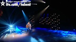 Michael Collings - Britain's Got Talent Live Semi-Final - itv.com/talent - UK Version