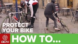 How To Protect Your Bike - Simple Ways To Keep Your Bike Safe When You Stop On Your Ride
