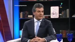 Mariana Godoy entrevista governador Beto Richa - Protesto professores