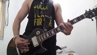 Guns N' Roses - You Could be Mine - Guitar solo cover. HD
