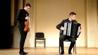 Metallica Master of puppets (violin and button accordion cover version) Rock music.Instrumental