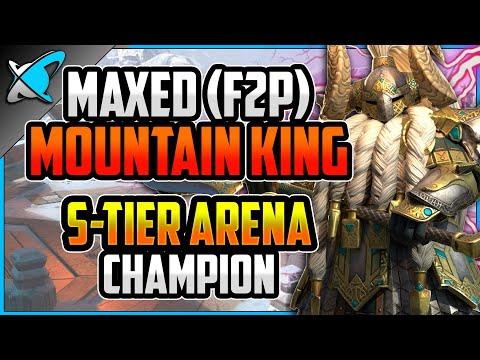 """""""MAXED (F2P)"""" Mountain King Build & Guide 