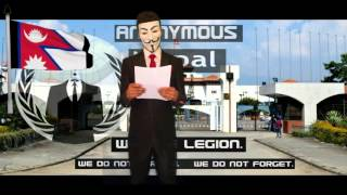 Anonymous Message To Government and People Of Nepal