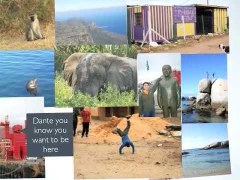 Dante's South Africa presentation