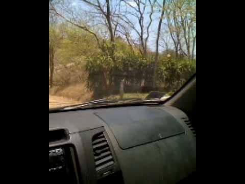 Drive to Playa Rosada, Rancho Santana Nicaragua – http//www.NicaraguaSurfingRental.com