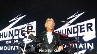 Bon Jovi Live in Santiago Sept. 14, 2017 We Don't Run