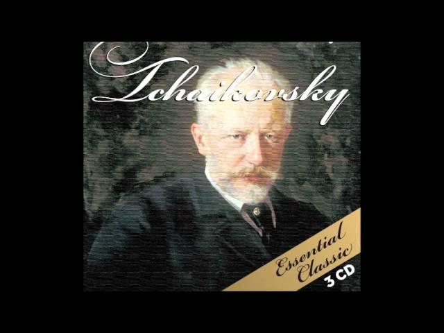 Audio de un recopilatorio de Tchaikovsky