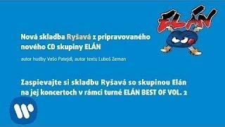 ELÁN - Ryšavá (lyric video)