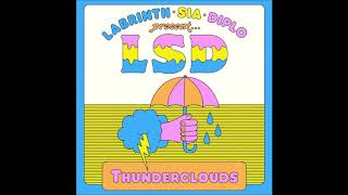 INSTRUMENTAL - Thunderclouds - LSD feat. Sia, Diplo, Labrinth