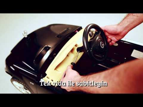 bosaparaverme.com // Mercedes s600 Akülü Araba Montaj Videosu