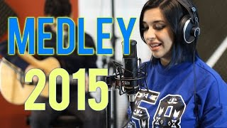Top Hits 2015 - 20 Pop Songs in 3 minutes - Live Acoustic Medley ( Luna Cover Mashup )