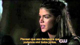 Lincoln and Octavia S3E1(Subtitulado en español) The 100