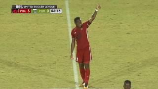 Didier Drogba Goal Vs Portland Timbers II   Pheonix Rising Vs Portland Timbers 2