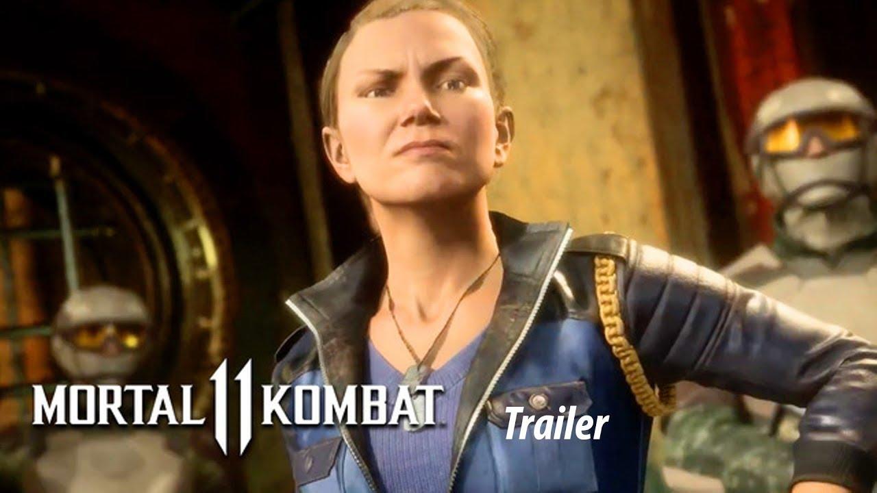 Download thumbnail for MORTAL KOMBAT 11 Trailer (2019) | Mortal