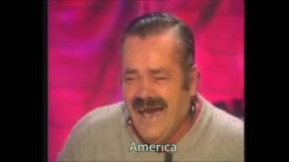 Reacting to Trump as President Spanish Laughing Guy