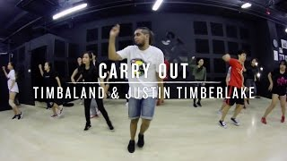 Carry Out (Timbaland & Justin Timberlake) | Daniel Choreography