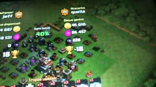 O ataque mais feio da história do clash of clans