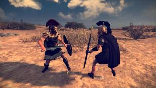 Total War: Rome 2 - Champion Duel (Long Fighting Animations)