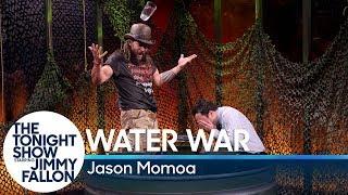 Water War with Jason Momoa width=