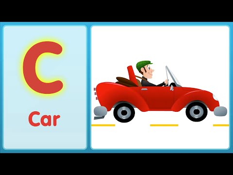 The C Song (Uppercase) | Super Simple ABCs
