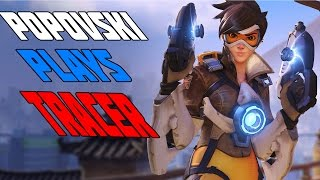 Overwatch: Russian explains Tracer