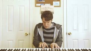 Steve Shimchick - Talk Is Cheap (Chet Faker Piano/Vocal Cover)