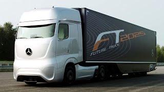 VIDEO. Asa arata super camionul viitorului