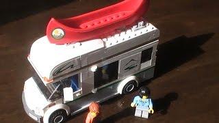 Lego City Camper Van Quick Build, 2014 set 60057