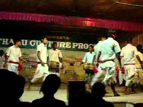 Tharu Cultural Program, Saurah, Chitvan, Nepal.avi