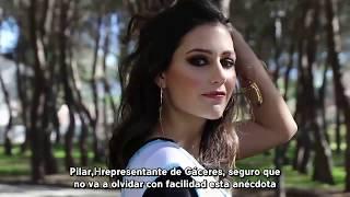 La respuesta de Miss Cáceres a su caída a la piscina que se ha hecho viral