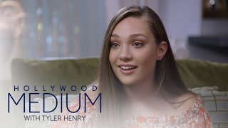 Maddie Ziegler Learns Her Grandma Is Her Guardian Angel   Hollywood Medium with Tyler Henry   E!