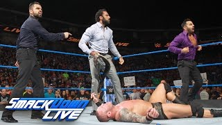 Jinder Mahal steals the WWE Championship from Randy Orton: SmackDown LIVE, April 25, 2017