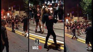 Ciara Shuts Down Entire Atlanta City Block For Her #DOSE Music Video! 🎥