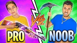 PRO Vs NOOB in FORTNITE! | Royalty Gaming