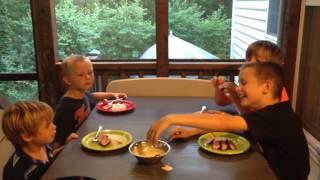 Four Hungry Boys Taste Test
