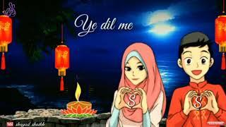 Sun Soniye tu mera dildar status video 2018 //Love Status 2018 //shayad shaikh //Ss creation.......